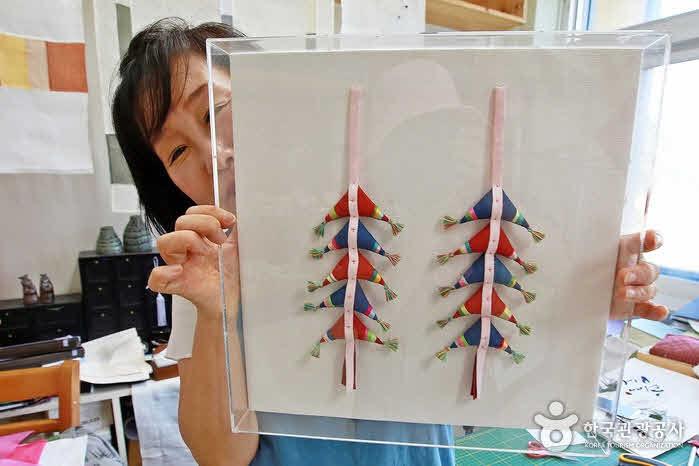 창작예술인촌에서는 다양한 예술체험도 가능하다.
