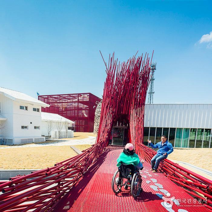 젊은달와이파크 입구(붉은대나무) 2