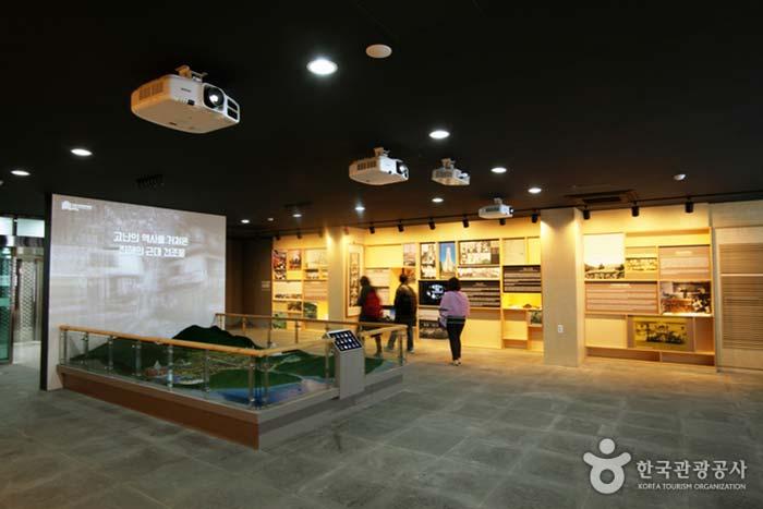창원시립진해박물관 내부