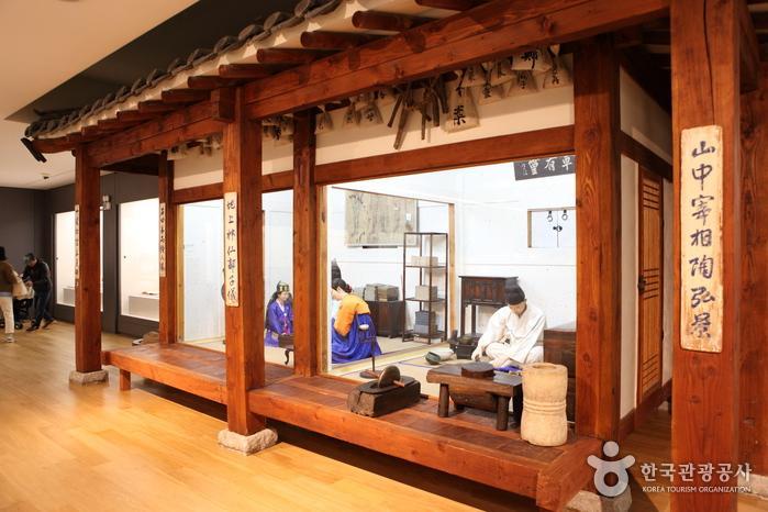 2층 한국전시실에 재현한 조선 시대 한약방