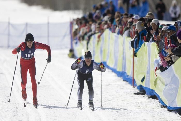 2009년대회, 크로스컨트리 스킹 참가선수 <사진제공 : 평창동계스페셜올림픽 조직위원회 >