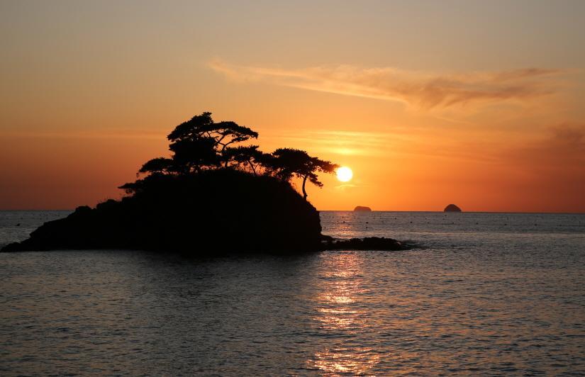 지질공원 중 한 곳인 솔섬