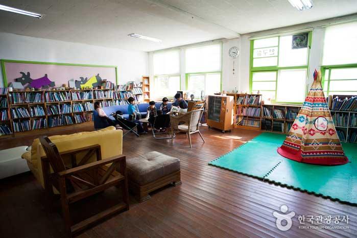 도란도란 책 나누는 공간, 버들눈도서관