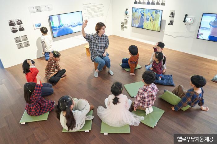 어린이 전문 도슨트와 함께하는 '아트동동' <사진제공:헬로우뮤지움 >