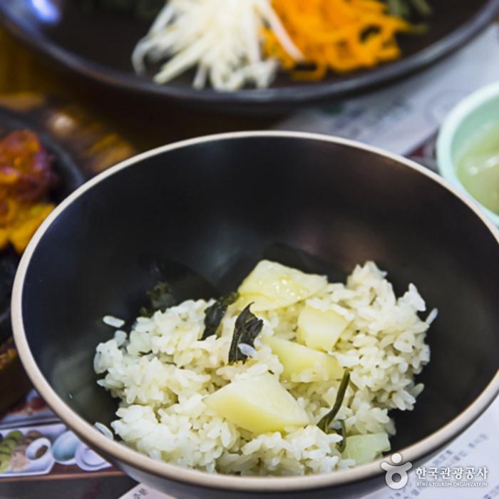 곰배령식당의 강원나물밥 정식2