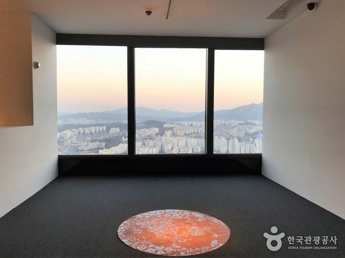 서울전경이 한눈에 보이는 전망대