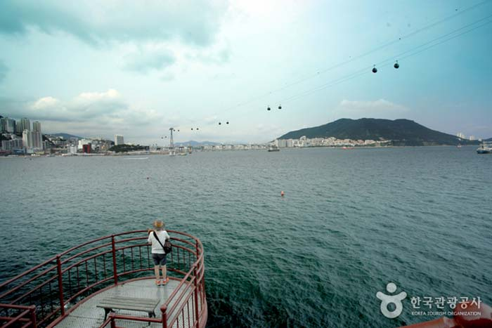 송도해안산책로 풍경