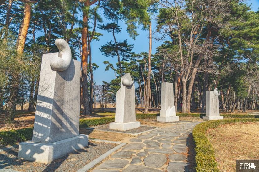 강릉 경포호 산책로 4