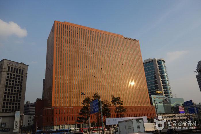 드라마 <미생>에 등장했던 옛 대우빌딩