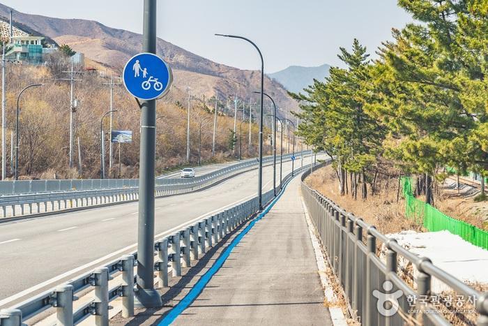 7번 국도를 따라 걷는 길