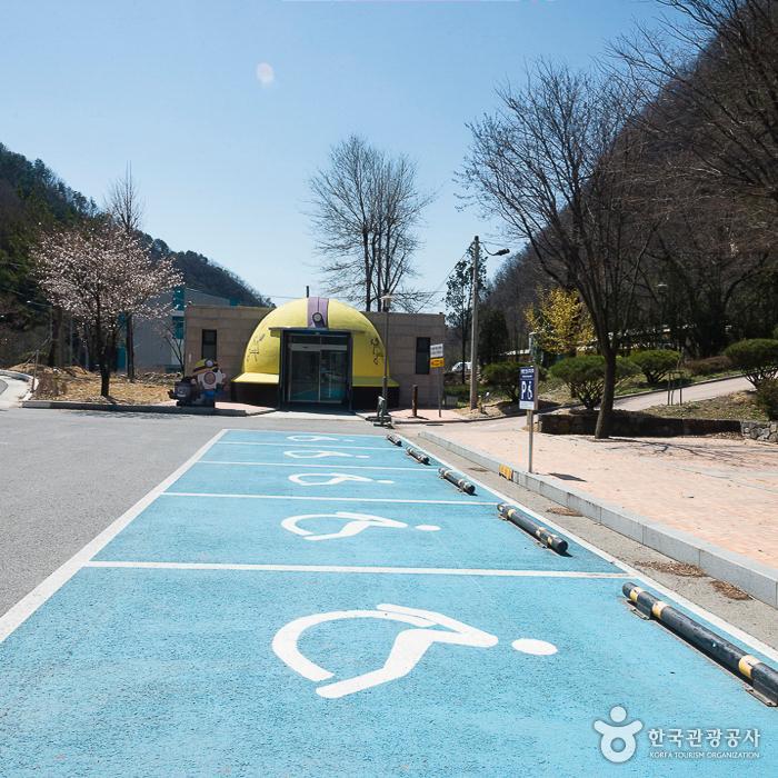 강원도탄광문화촌 장애인 주차구역