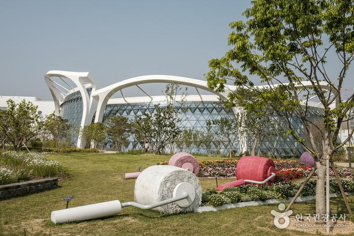 주제원에서 바라본 서울식물원 전경