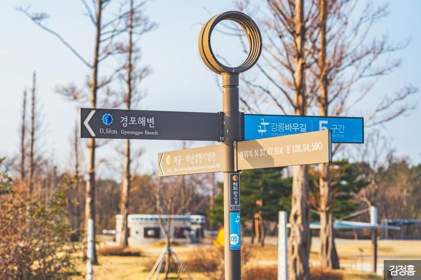 강릉 경포호 산책로 1