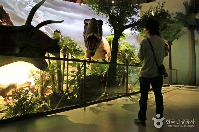 영화 <쥬라기 공원 >에 등장하는 백악기 공룡들
