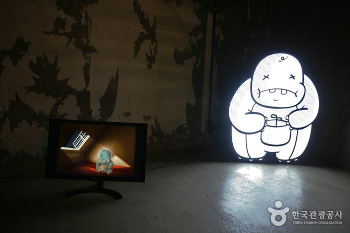 수창청춘맨숀의 ''청춘!, Ah, popped'' 의 작품 주인공인 우기