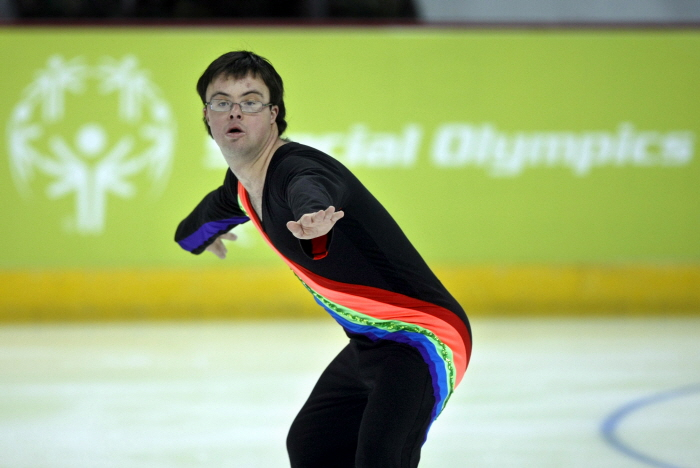 2009년대회, 피겨스케이팅 참가선수 <사진제공 : 평창동계스페셜올림픽 조직위원회 >