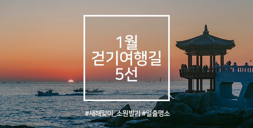 1월 걷기여행길 5선