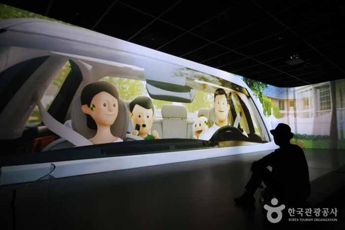 안전장치를 설명해주는 애니메이션