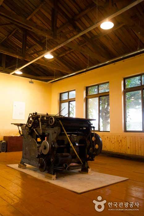 거대한 활판인쇄기