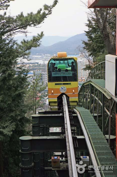 제황산 공원 모노레일카