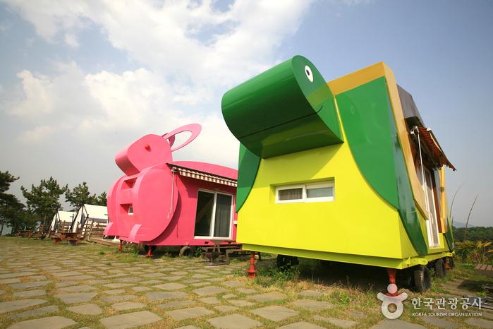 비토국민여가캠핑장에 마련된 스토리하우스