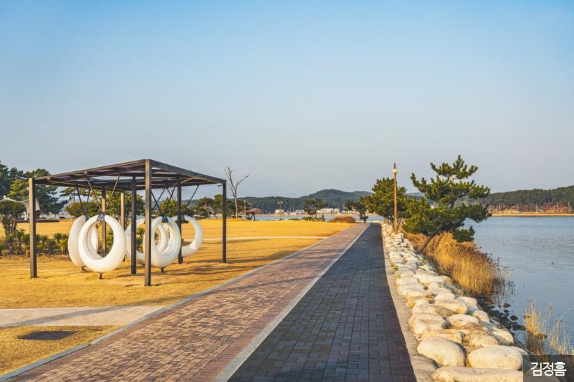 강릉 경포호 산책로 2
