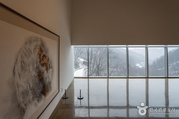 자연과 예술이 어우러진 이상원미술관